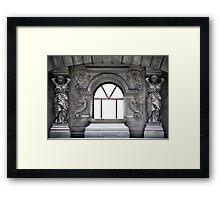 Caryatids Framed Print