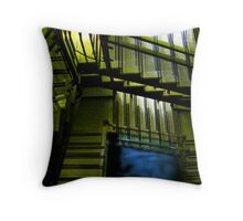 don't take these stairs Throw Pillow