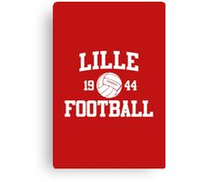 Lille Football Athletic College Style 2 Color Canvas Print