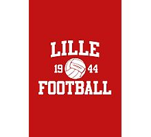 Lille Football Athletic College Style 2 Color Photographic Print