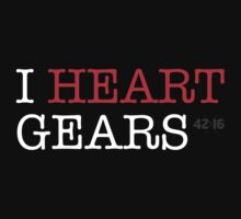 i heart gears Kids Clothes