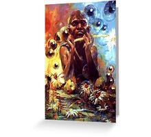The Lotus Eater - Far North Queensland Australia Greeting Card