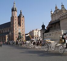 Market Square, Krakow by Adamdabs