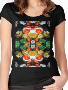 Photo-Cubism #1 Women's Fitted Scoop T-Shirt