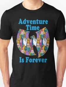 Adventure Time Is Forever (blue font) T-Shirt
