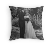 Just Wed... Throw Pillow