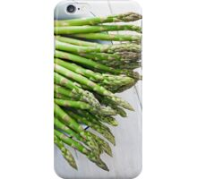 Green asparagus iPhone Case/Skin
