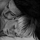 Pencil, Mother & Child by Sara Mormone Lowe