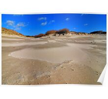 Sand drift Poster