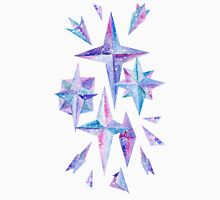 Watercolor Ice Wind Rose Crystals Unisex T-Shirt
