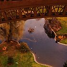 Lake under the Eiffel tower by CharlyBoy