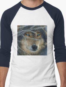 Wolf Eyes Men's Baseball ¾ T-Shirt