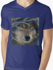 Wolf Eyes Mens V-Neck T-Shirt