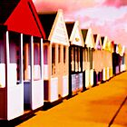 BEACH HUTS by Daniel Weeks