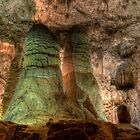 Carlsbad Caverns Stalagmites   by rjcolby