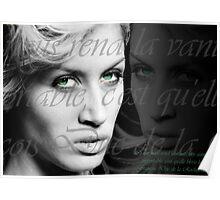 Vanity begets vanity Poster