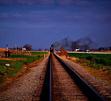 Watching The Train Come-Strasburg Railroad by BigD