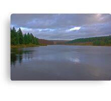 Cod Beck Reservoir Canvas Print