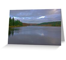 Cod Beck Reservoir Greeting Card