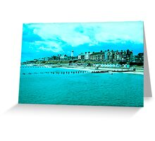 summer town Greeting Card