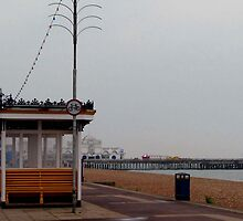 The Seafront, Southsea by Caroline Anderson