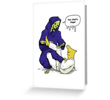 Gelatin Choke - Reaping the Reaper Greeting Card