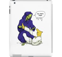 Gelatin Choke - Reaping the Reaper iPad Case/Skin