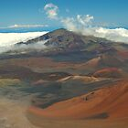 Haleakala Volcano and Lava Field, Maui, Hawaii by fauselr