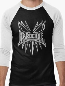 Hardcore TShirt - WhiteLine Men's Baseball ¾ T-Shirt