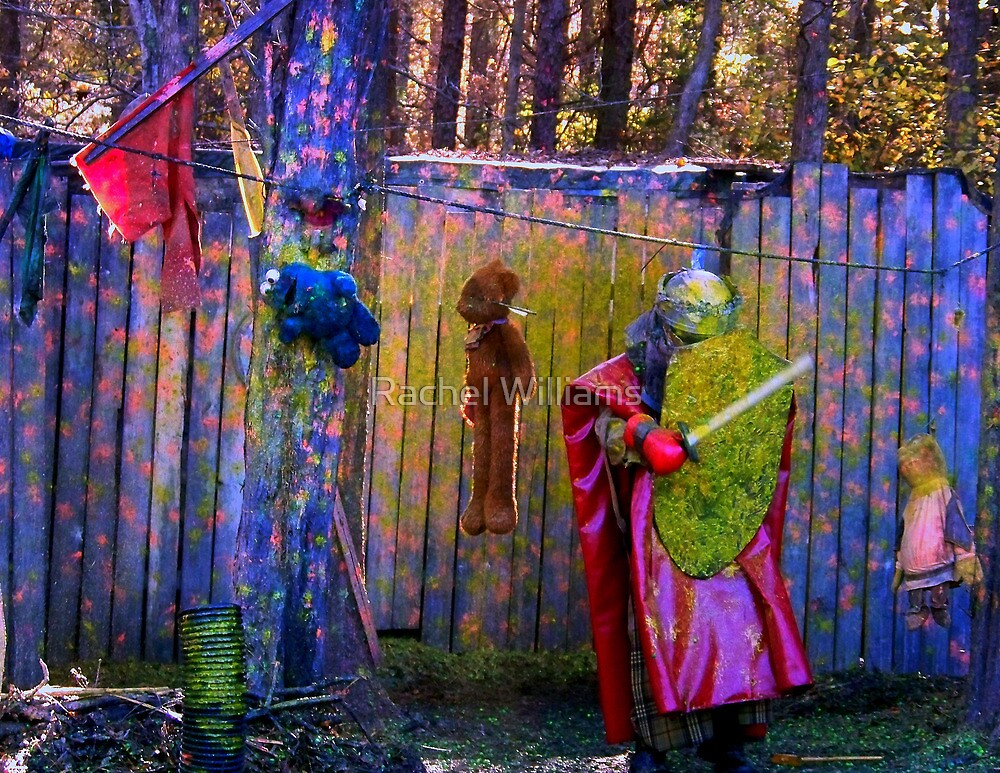 medieval Paintball by Rachel Williams