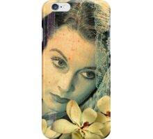 Scarlett Leigh with Magnolias from Tara iPhone Case/Skin