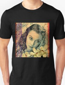 Scarlett with Magnolias T-Shirt