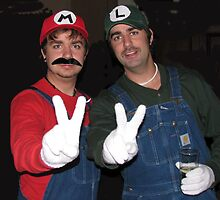Mario and Luigi by Greta  McLaughlin