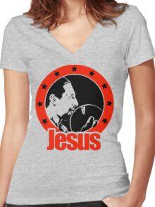Jesus Quintana Women's Fitted V-Neck T-Shirt