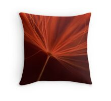 Charged in Red One Throw Pillow