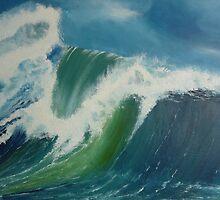 Big Wave 3 by Shelagh Linton