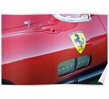 1957 Ferrari 335 Sport Poster