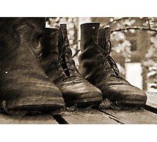 Boots Photographic Print