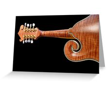 Mellifluous Mandolin © Greeting Card