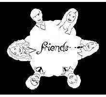 Luna's friends Photographic Print