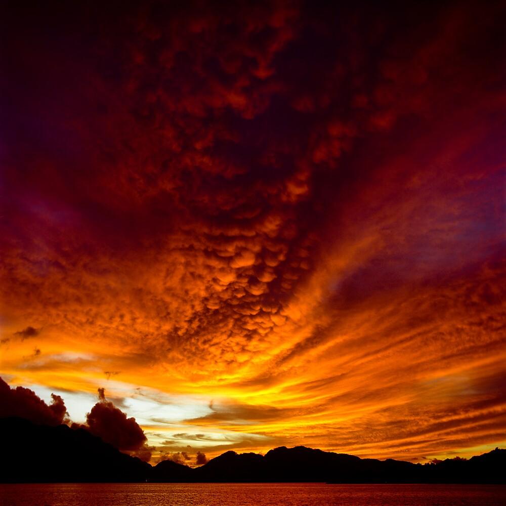Fiery Skies by luxquarta