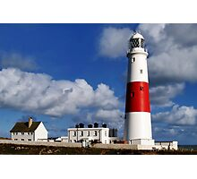 Portland Bill Lighthouse Photographic Print