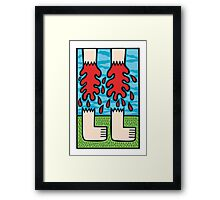 Firm footed Framed Print