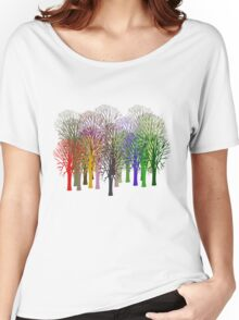 Forest View T-Shirt Women's Relaxed Fit T-Shirt