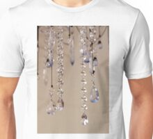 Crystals In Blue Unisex T-Shirt