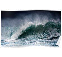 Winter Waves At Pipeline 2 Poster