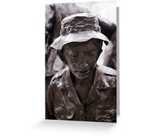 Vietnam Woman's Memorial 6 Greeting Card