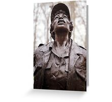 Vietnam Woman's Memorial 3 Greeting Card