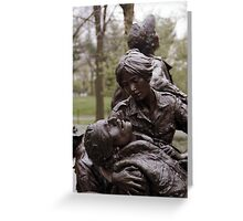 Vietnam Woman's Memorial 1 Greeting Card