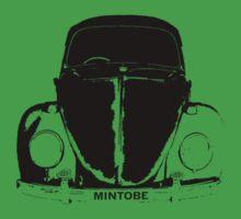VW Beetle Shirt Black_Mintobe Beetle by melodyart